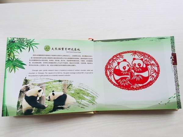 成都风光剪纸浓缩精华版之大熊猫基地