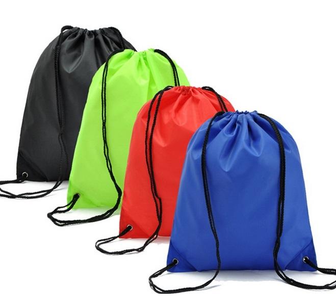 成都定做防水涤纶束口袋 彩印拉绳环保购物旅 成都定做防水涤纶束口袋 彩印拉绳环保购物旅 游收纳包装袋 游收纳包装袋