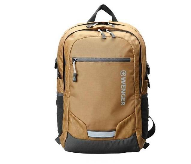 威戈电脑包双肩背包男女户外旅行背包15寸休闲背包企业员工福利礼品