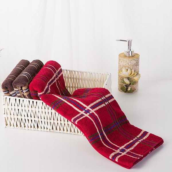 维多利亚单条毛巾彩盒装 公司促销活动礼品定制