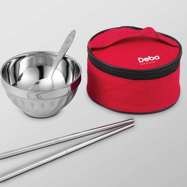贝格尔便携式餐具四件套 可以定制logo